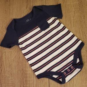 $2 ADD TO BUNDLE!! Striped T-Shirt Onesie